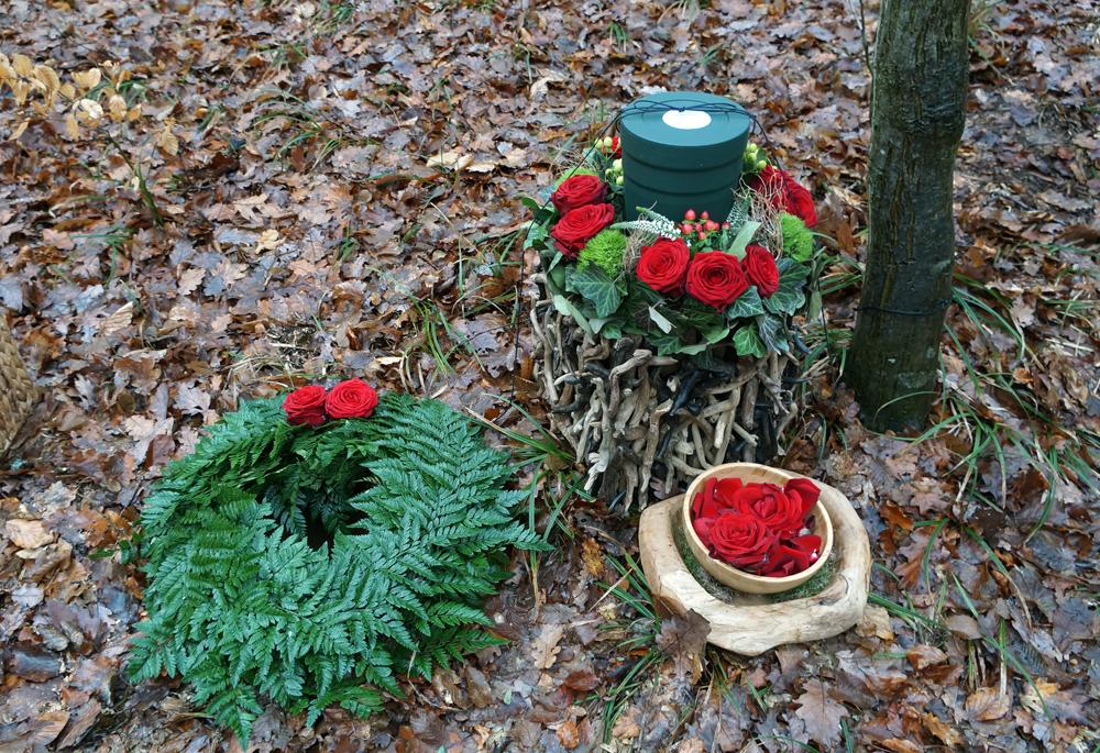 Urne mit Grabstelle - Wald der Ewigkeit - Naturbestattung GmbH