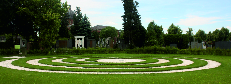 Himmelsspirale in Graz Naturbestattung GmbH Zadrobilek