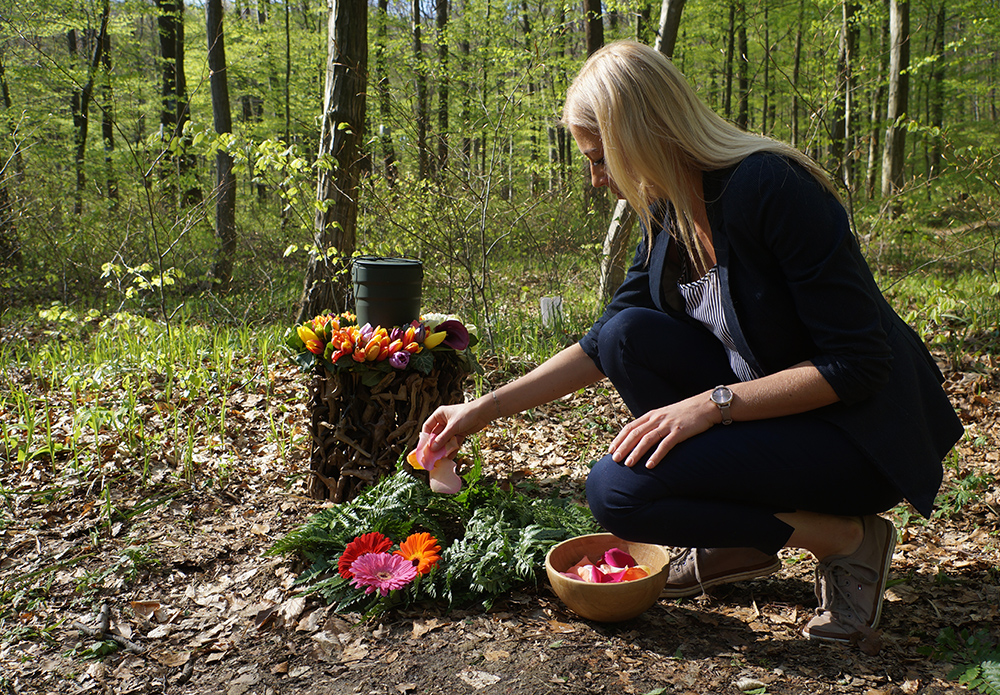 Beisetzung im Wald der Ewigkeit 1140 Wien Mauerbach Gießhübl und Bisamberg